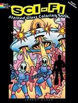 Sci-Fi Stained Glass Coloring Book | Jeremy Elder |