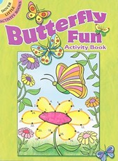 Butterfly Fun Activity Book | Jessica Mazurkiewicz |