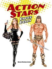 Action Stars Paper Dolls
