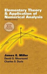 Elementary Theory and Application of Numerical Analysis | Miller, James E., Jr. |