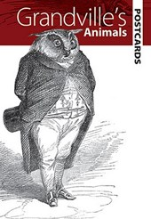 Grandville's Animals Postcards