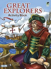 Great Explorers Activity Book | George Toufexis |