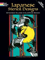 Japanese Stencil Designs Stained Glass Coloring Book | Carol Schmidt |