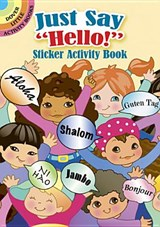 "Just Say ""Hello!"" Sticker Activity Book 