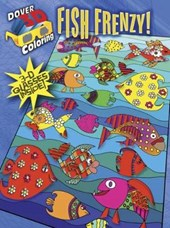 3-D Coloring Book--Fish Frenzy!