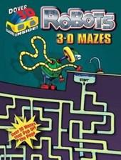 3-D Mazes--Robots