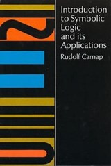 Introduction to Symbolic Logic and Its Applications | Rudolf Carnap |