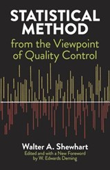 Statistical Method from the Viewpoint of Quality Control | Walter a. Shewhart |