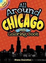All Around Chicago Mini Coloring Book | Diana Zourelias |