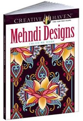Creative Haven Mehndi Designs Collection Coloring Book | Dover |