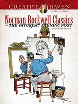 Creative Haven Norman Rockwell Classics from the Saturday Evening Post Coloring Book | Norman Rockwell |