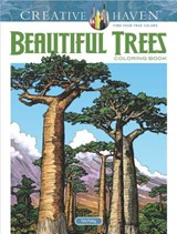 Creative Haven Beautiful Trees Coloring Book | Tim Foley |