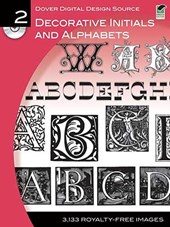 Decorative Initials and Alphabets [With CDROM]