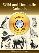 Wild and Domestic Animals [With CDROM] | Dover |
