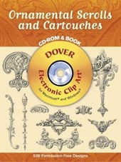 Ornamental Scrolls and Cartouches [With CD-ROM]