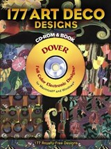 177 Art Deco Designs [With CDROM] | Edouard Benedictus |