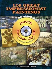 120 Great Impressionist Paintings [With CDROM]