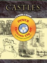 Castles [With CDROM] | Dover |