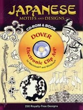 Japanese Motifs and Designs [With CDROM]