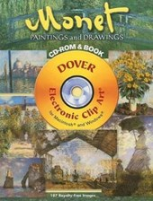 Monet Paintings and Drawings CD-ROM and Book [With CDROM]