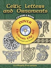 Celtic Letters and Ornaments [With CDROM] | Dover |
