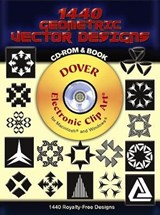 1440 Geometric Vector Designs [With CD ROM] | Miguel Angel Sanchez Serrano |