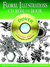 Floral Illustrations CD-ROM and Book [With Electronic Clip Art for Macintosh and Windows]