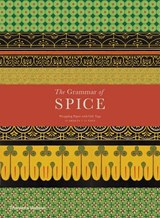 Grammar of spice gift wrapping paper with gift tags | caz hildebrand |