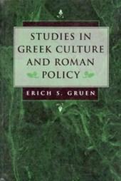 Studies in Greek Culture & Roman Policy