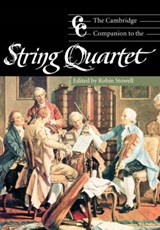Cambridge Companion to the String Quartet | Robin Stowell |