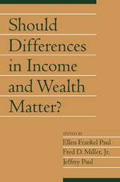 Should Differences in Income and Wealth Matter?