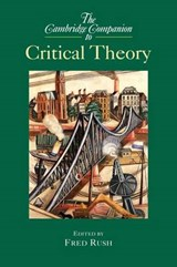 Cambridge Companion to Critical Theory | RUSH,  Fred |