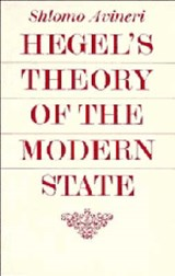 Hegel's Theory of the Modern State | Shlomo Avineri |