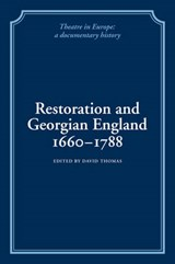Restoration and Georgian England, 1660-1788 | auteur onbekend |