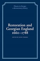 Restoration and Georgian England, 1660-1788