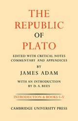 The Republic of Plato | James Adam |