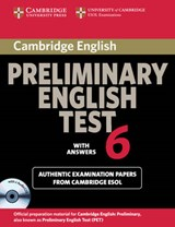Cambridge Preliminary English Test 6 with Answers | Cambridge Esol |