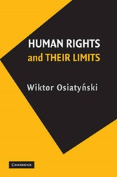 Human Rights and their Limits | Wiktor Osiatynski |