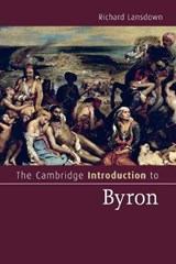 The Cambridge Introduction to Byron | Richard Lansdown |