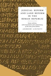 Judicial Reform and Land Reform in the Roman Republic