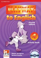 Playway to English Level 4 Activity Book [With CDROM]