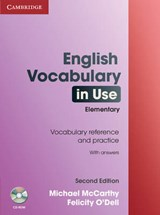 English Vocabulary in Use Elementary with Answers [With CDROM] | Michael McCarthy |