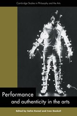Performance and Authenticity in the Arts |  |
