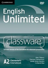 English Unlimited Elementary Classware DVD-ROM | Alex Tilbury |