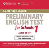 Cambridge Preliminary English Test for Schools 1 Audio CDs (2)