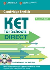 KET for Schools Direct [With CD (Audio)]