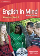 English in Mind Level 1 Student's Book with DVD-ROM | Herbert Puchta |