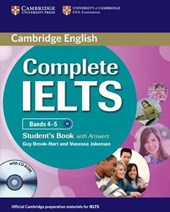 Complete IELTS Bands 4-5 Student's Book with Answers with CD | Guy Brook-Hart |