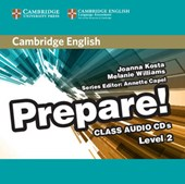 Cambridge English Prepare! Level 2 Class Audio CDs