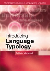 Introducing Language Typology | Edith A. Moravcsik |